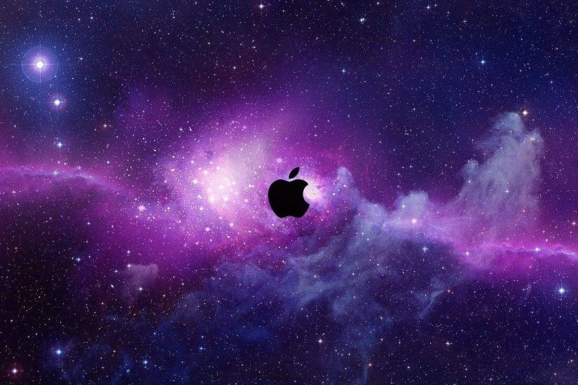 Wallpapers For > Purple Apple Wallpaper Desktop