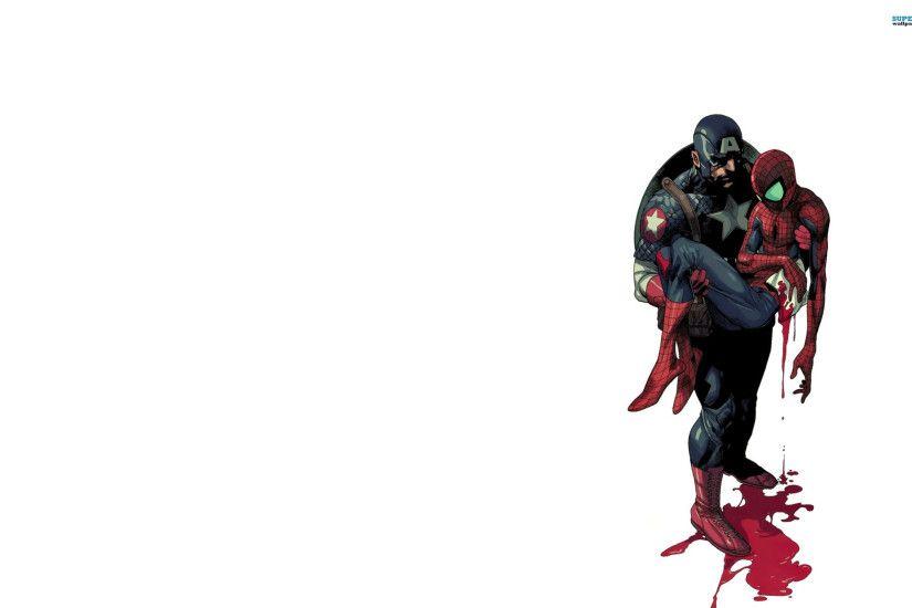 Spiderman Cartoon Wallpaper 1