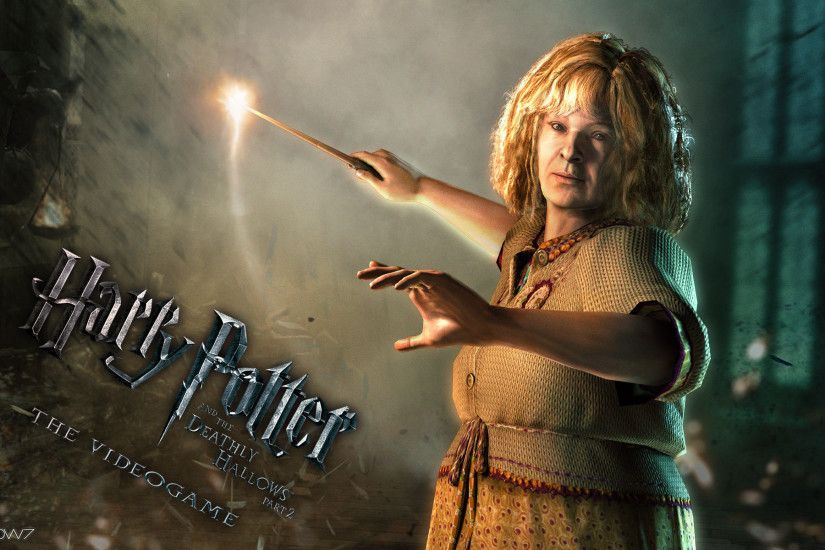 harry potter and the deathly hallows molly widescreen wallpaper