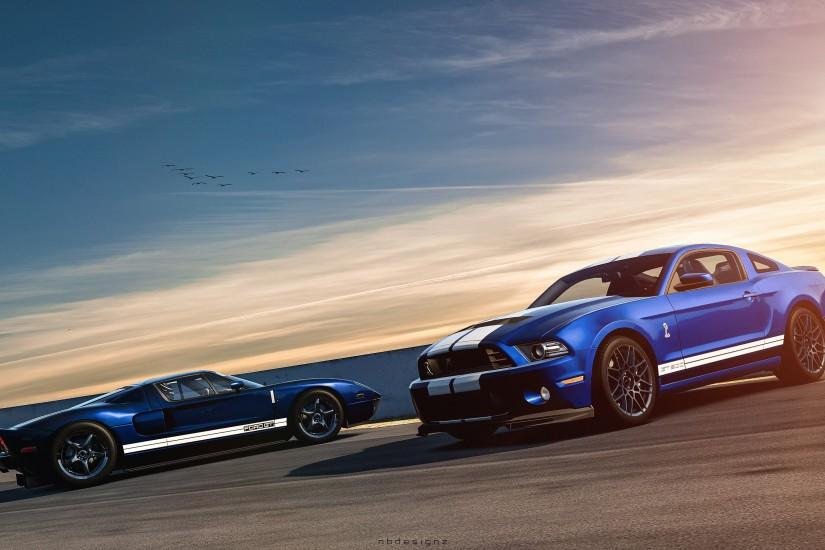 Net Ford Mustang Shelby GT500 Ford GT Wallpaper HD Car Wallpapers