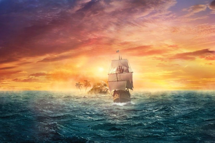 Ghost Pirate Ship Wallpapers Mobile - Obaasima.com