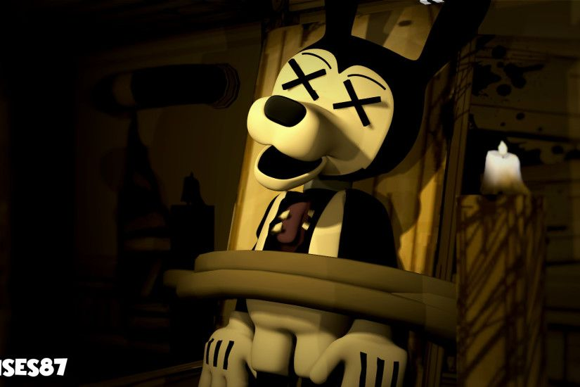 ... Boris the Wolf [Bendy and the Ink machine] by Moises87