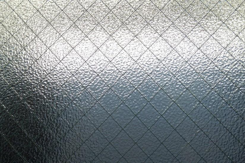 Glass Background with Wire Mesh