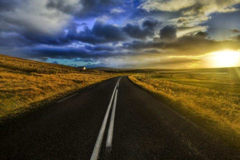 widescreen road background 2560x1600 for 4k monitor