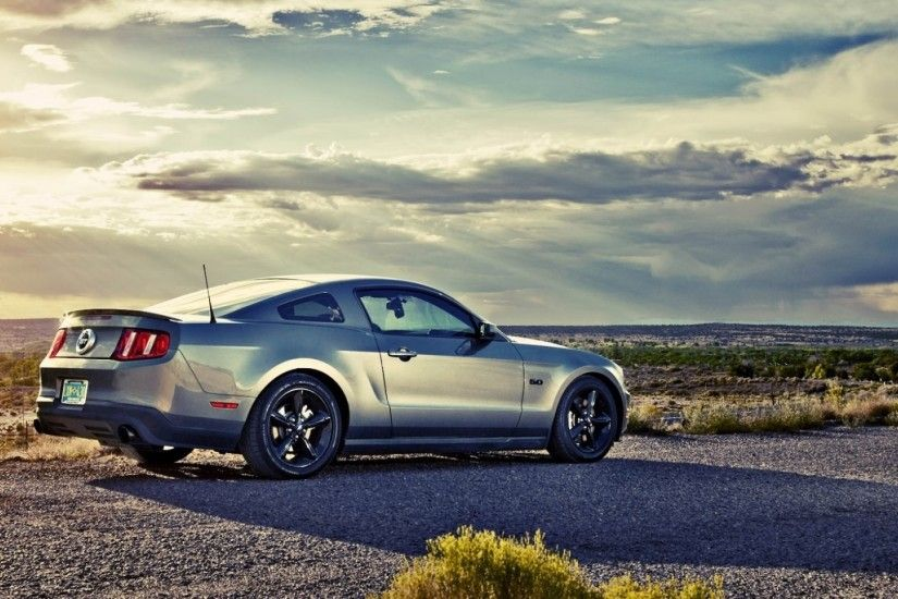 Preview wallpaper mustang, coupe, road, ford 1920x1080