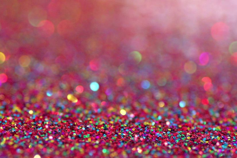 Colourful blue glitter falling on red glitter. Perfect party glitz and glamour  background Stock Video Footage - VideoBlocks