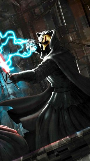 1440x2560 Wallpaper star wars, knights of the old republic, darth revan,  darth nihilus