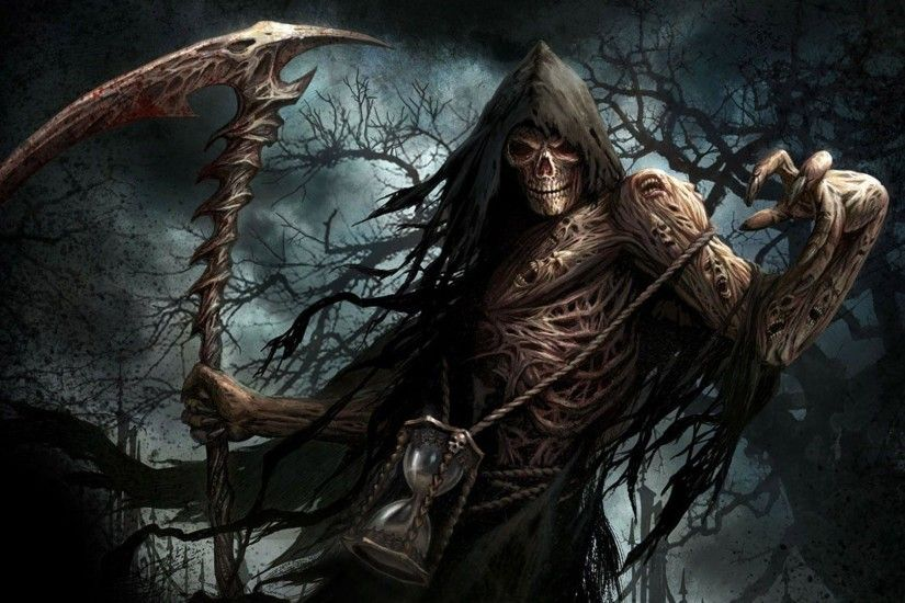 HD Scary Grim Reaper Wallpaper