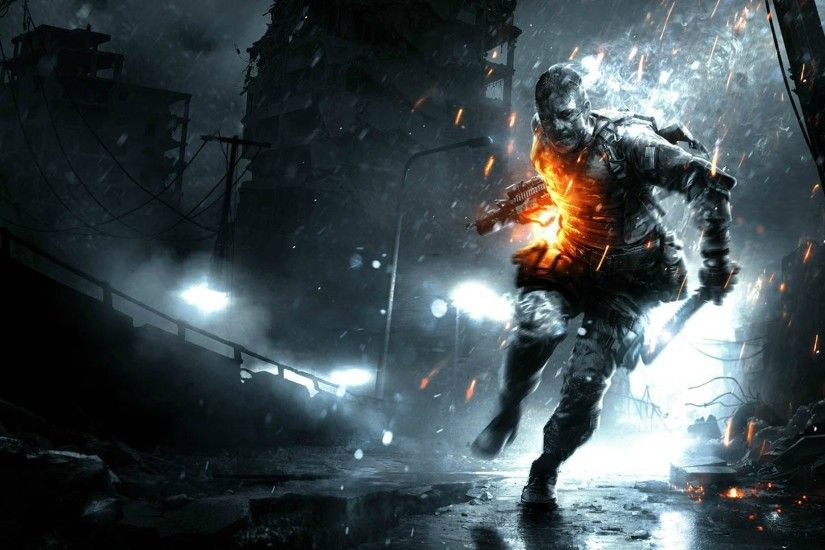 digital Art, Soldier, Dark, Destruction, Urban Wallpapers HD / Desktop and  Mobile Backgrounds