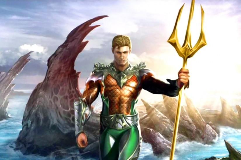 História do Aquaman: Injustice Gods Among Us (gameplay + final .