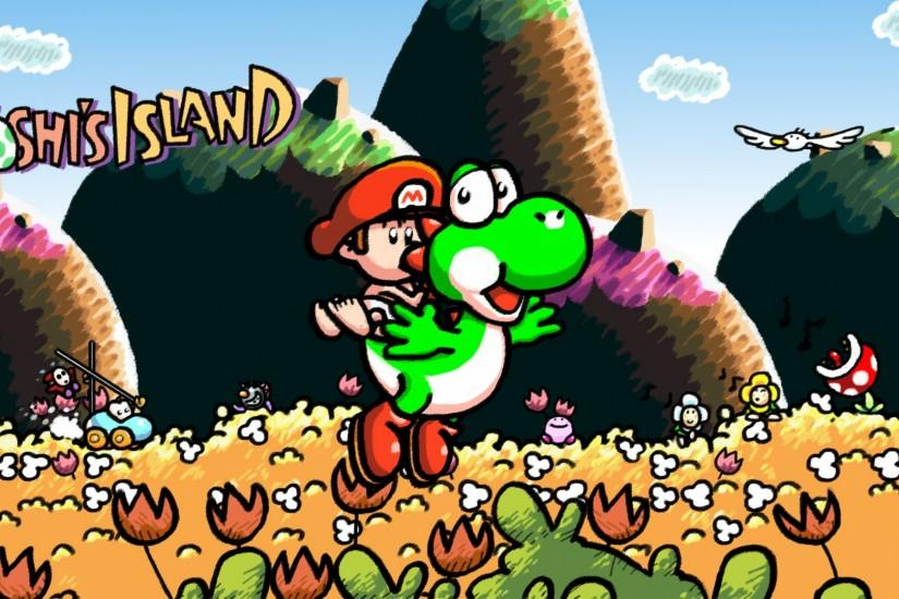 ... Yoshi's Island Wallpaper by Funky-Indubitably
