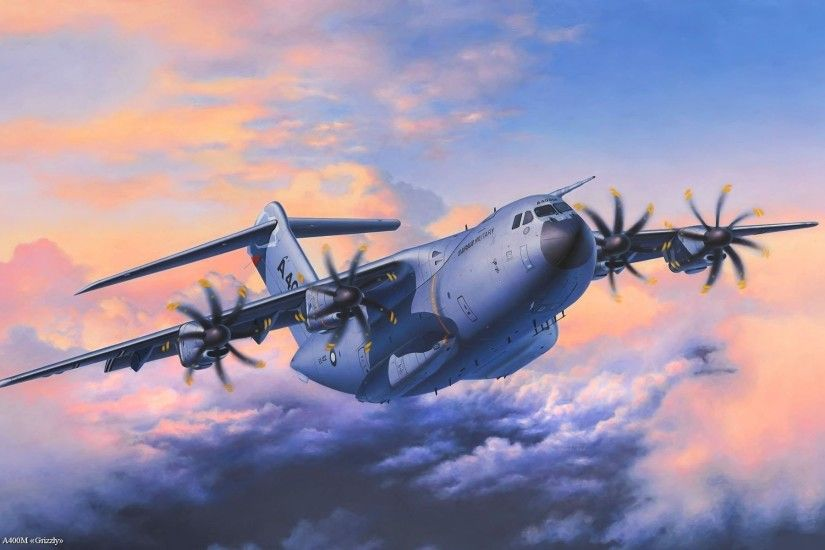 Military - Airbus A400M Wallpaper