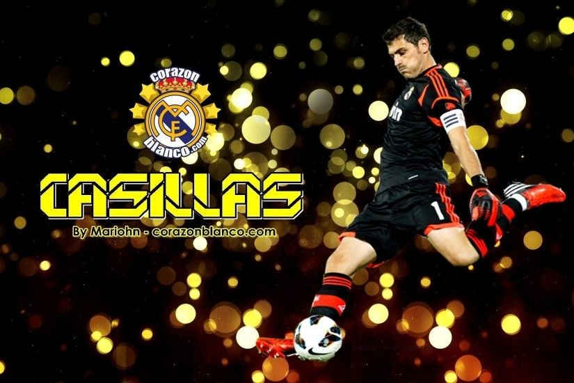 1920x1200 The goalkeeper Real Madrid Iker Casillas wallpapers and images .