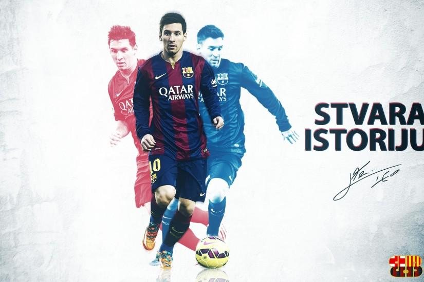 ... Lionel Messi 2015 HD wallpaper by SelvedinFCB