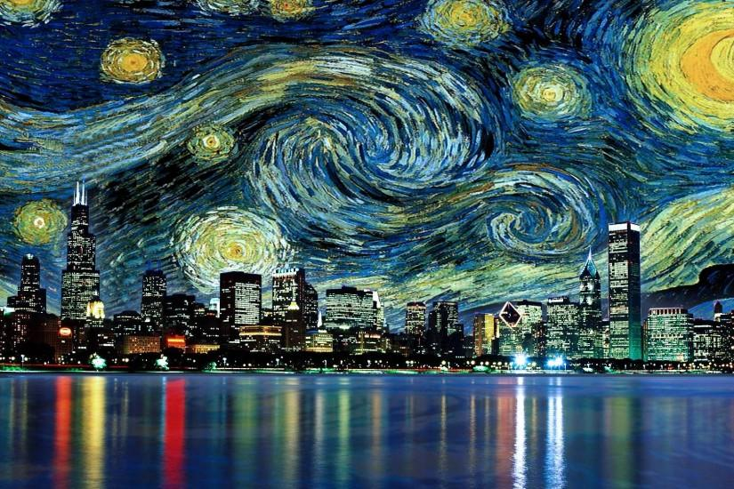 gorgerous starry night background 1920x1080 hd 1080p