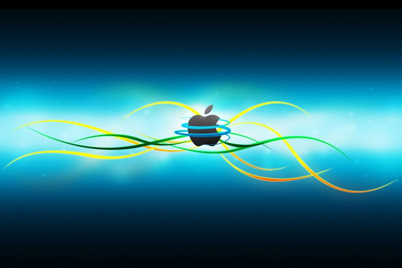 digital hd apple wallpaper
