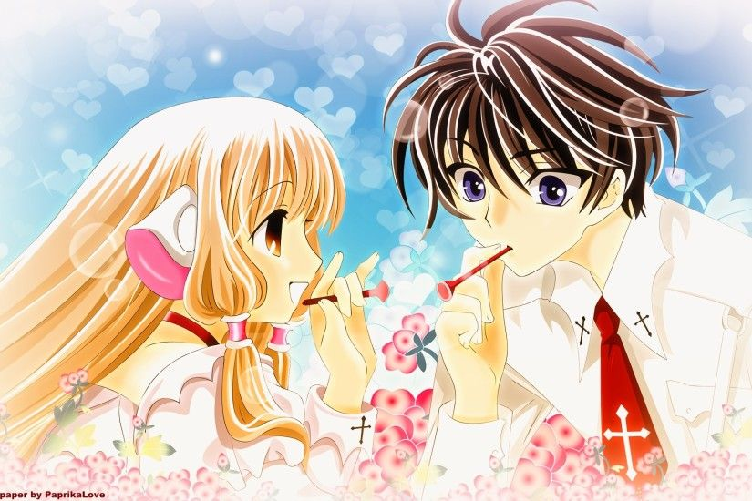 Chobits is a one of a kind romance story you can ever watch. Its about a  robot founded by a boy in the street in the dumpster.