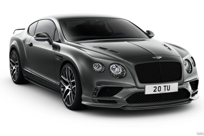 2018 Bentley Continental GT Supersports Wallpaper