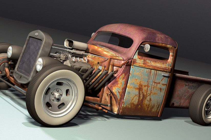 Vehicles - Rat Rod Wallpaper
