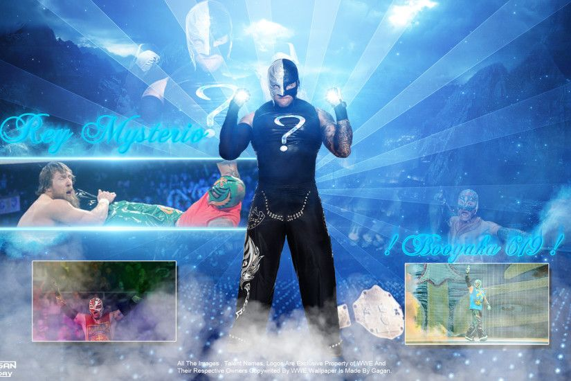 Rey Mysterio Wallpaper by GJ30GaganJ30 Rey Mysterio Wallpaper by  GJ30GaganJ30