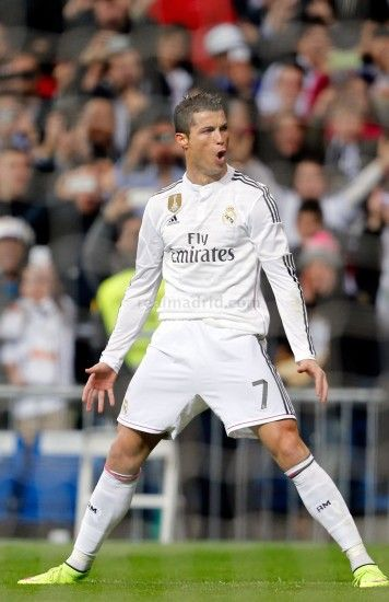 1500x2317 Cristiano Ronaldo of Real Madrid celebrates after scoring his  team's opening goal during the La