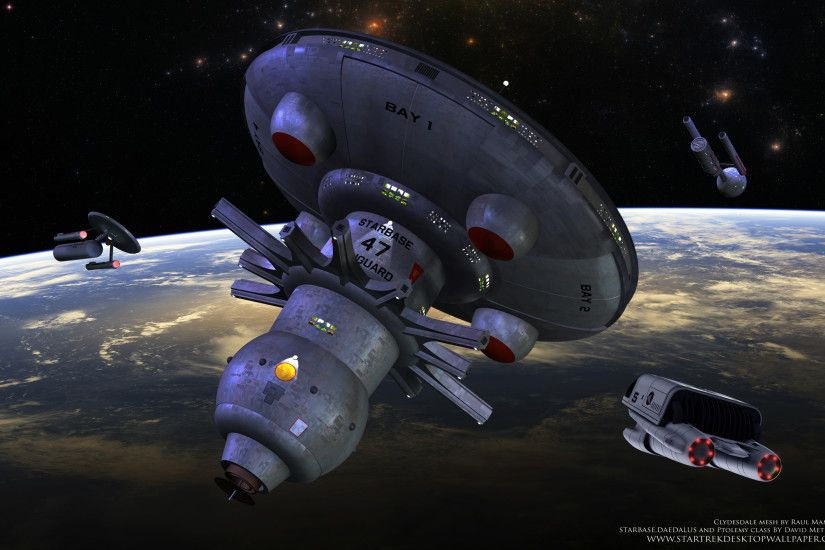 Star Trek Starbase 47 - free Star Trek computer desktop wallpaper,  pictures, images