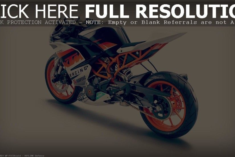 engine specs 2015 KTM RC390