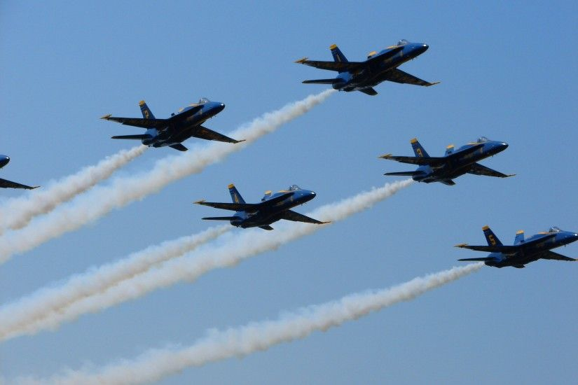 ... Blue Angels Air Show Flight 04 by FantasyStock