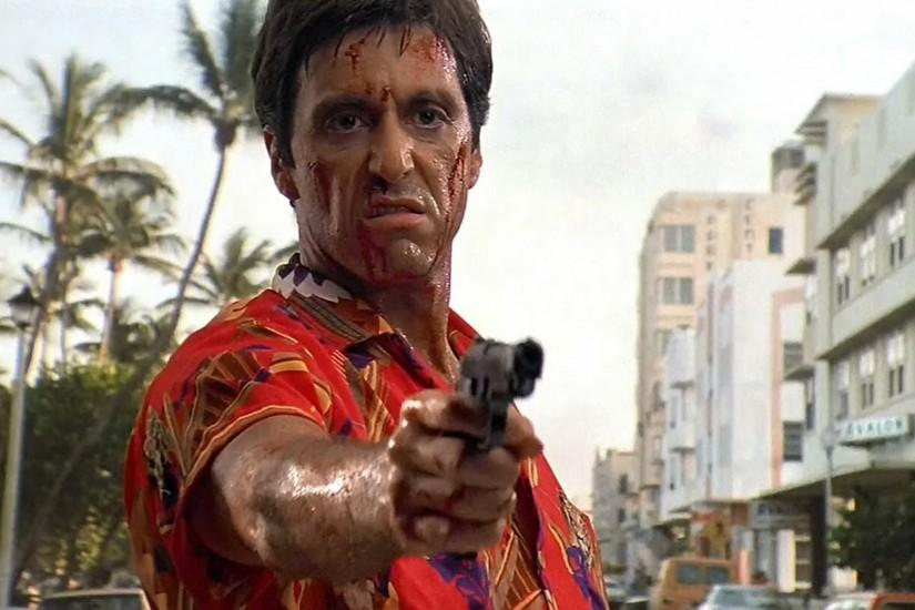 SCARFACE crime drama movie film weapon gun dark wallpaper | 1920x1081 |  333958 | WallpaperUP
