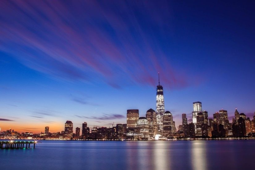 new york city skyline wallpaper ...