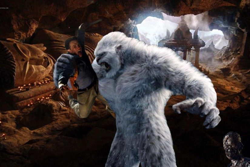 ... Lara Croft and the YETI by Croft094 on DeviantArt ...
