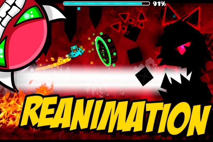 GEOMETRY DASH - (Easy Demon) - 41 - Reanimation by Terron - EPIC LEVEL!! -  YouTube