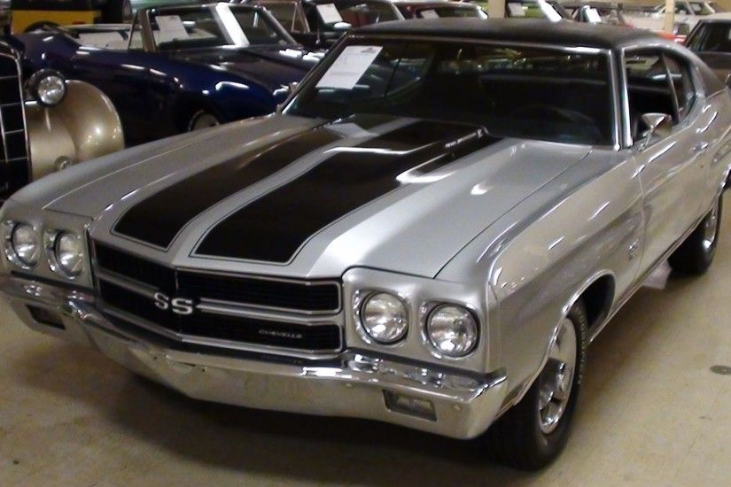 1970 Chevelle SS 454 Big-Block Clone - Nicely Restored Muscle Car - YouTube