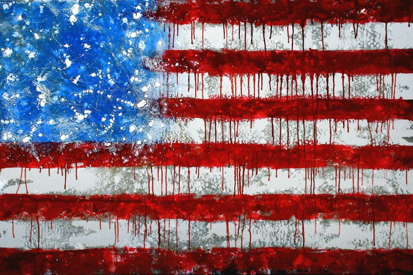USA, United States, United States of America, America Flag Art Wallpaper