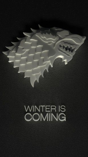 Winter Is Coming Iphone Wallpaper