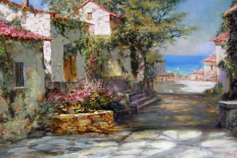 Wallpaper art artistic painting painters 34