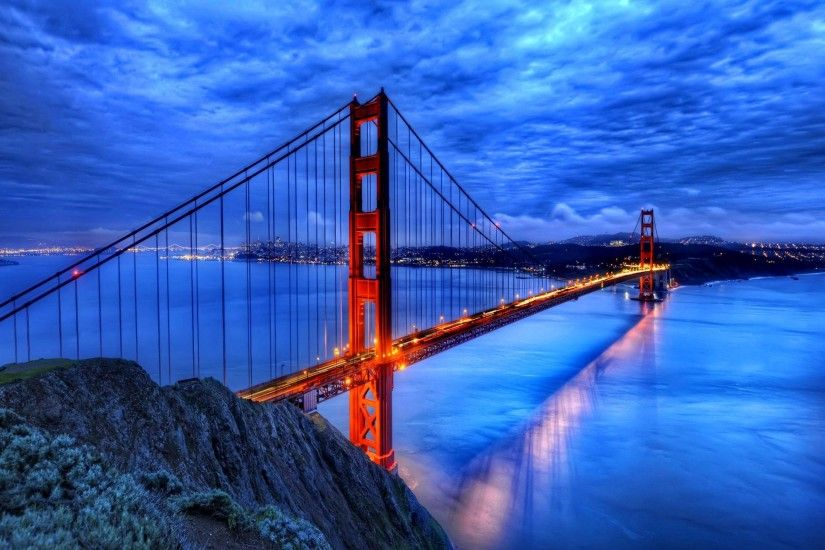 Cool Golden Gate Bridge Wallpaper Free download best Latest 3D HD desktop  wallpapers background Wide Most