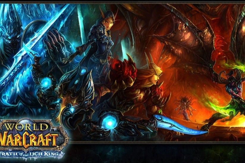 World of Warcraft Wrath of the Lich King - 1920x1080 - Full HD 16 .