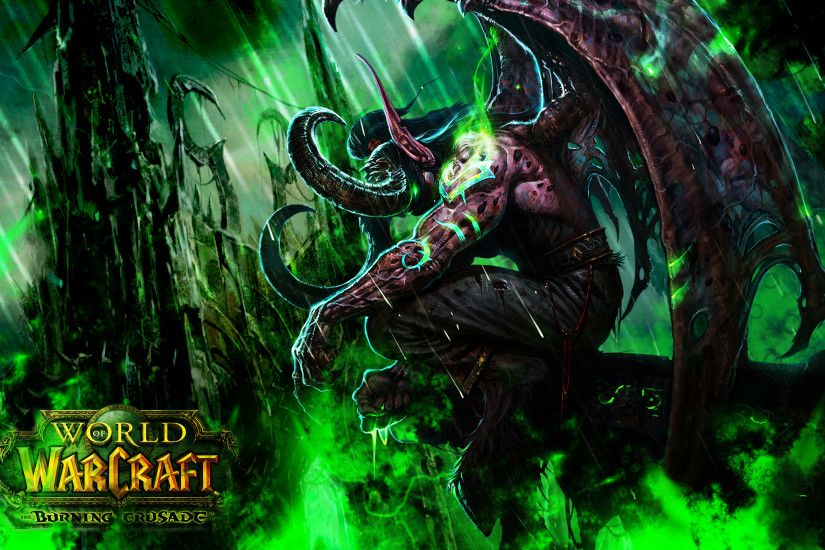 Image Of Illidan Stormrage Tattoo Pictures