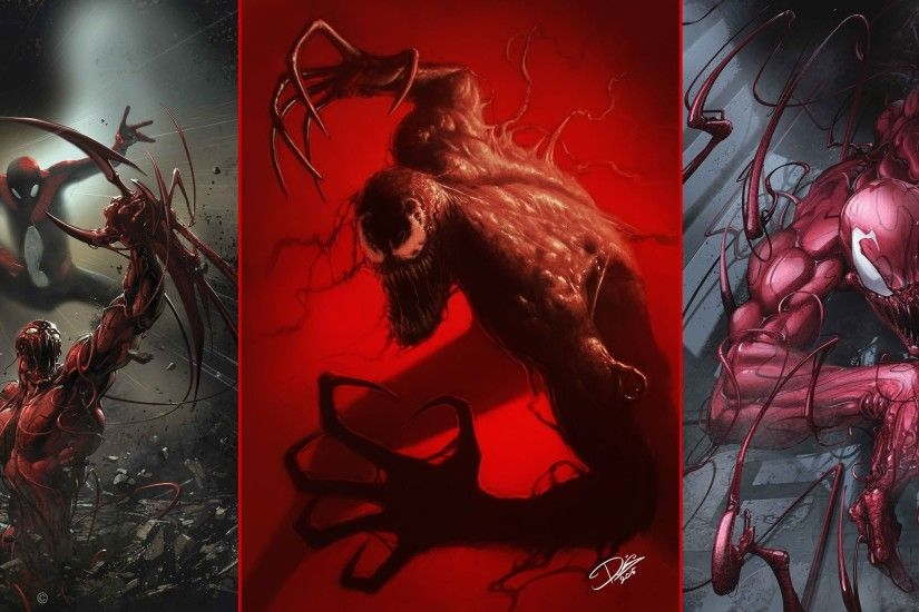 artwork, Collage, Spider Man, Carnage Wallpapers HD / Desktop and Mobile  Backgrounds