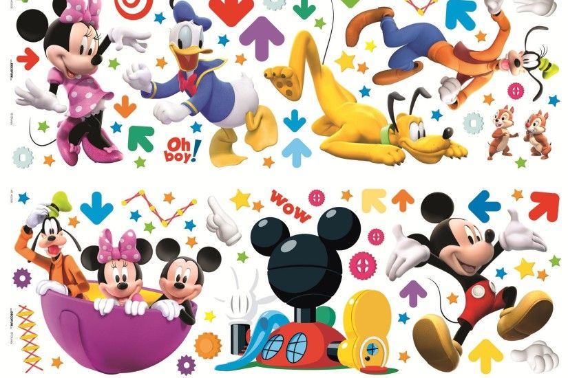 Mickey Mouse, Mickey and Minnie's Night Out Wallpaper 70-243