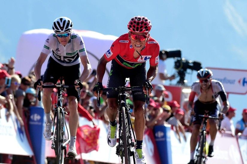 Britain's Chris Froome strengthened his grip on the red jersey by finishing  second in Stage 11 in La Vuelta's first major mountaintop finish, ...