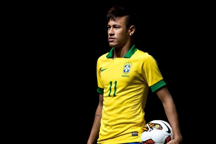 Neymar Brazil World Cup 2014 HD Wallpaper #2458 | TanukinoSippo.