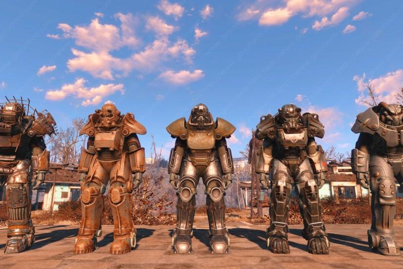 Fallout 4 Power Armor locations screenshot guide shows you where to find  these metallic suits of