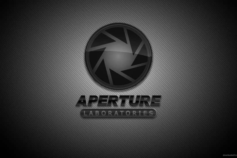 Aperture Science Black logo picture