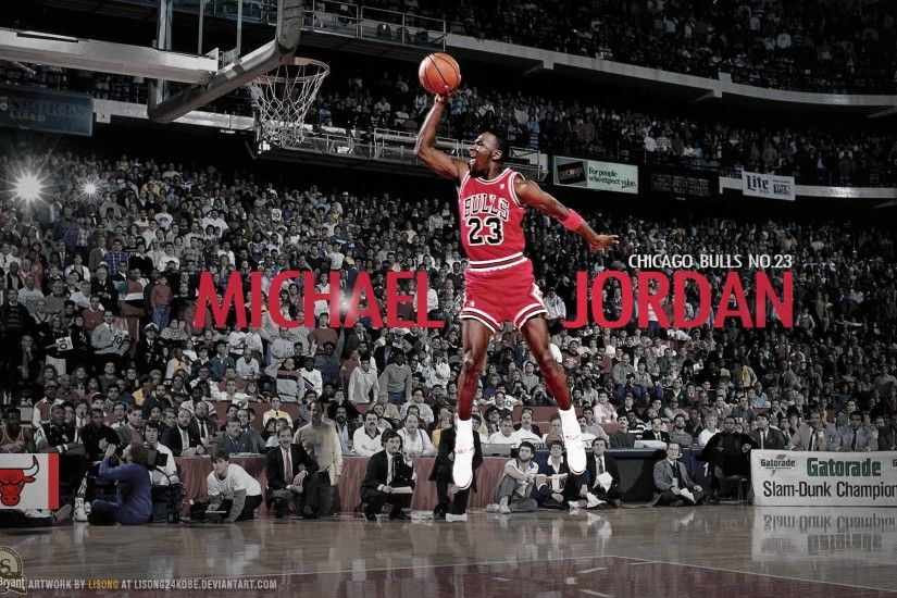 Michael Jordan Dunks From The Free Throw Line - 1580654