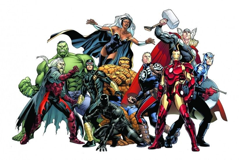 marvel comics dracula hulk storm cyclops black panther the thing steve  rogers thor captain america iron