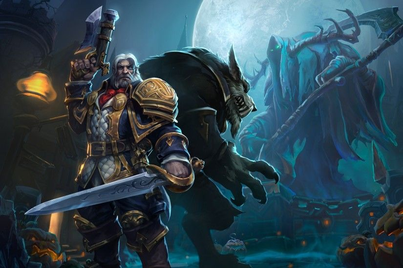General 1920x1080 Blizzard Entertainment heroes of the storm Genn Greymane  Worgen