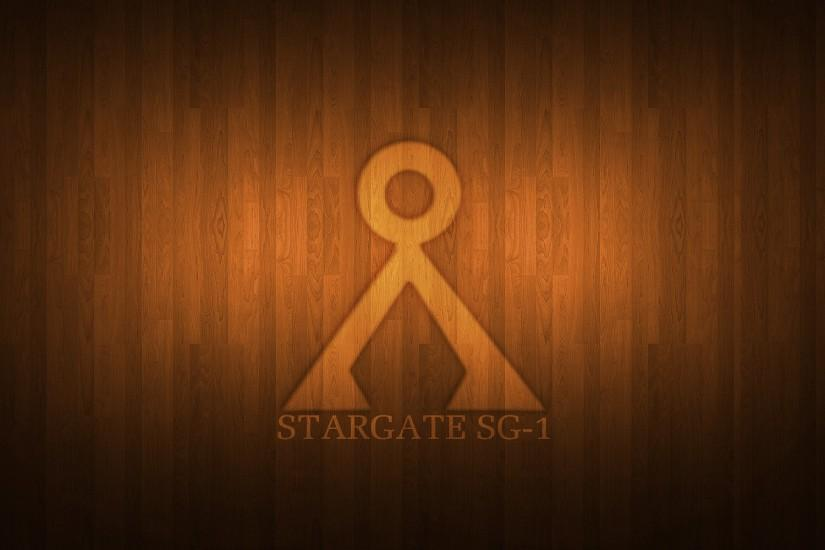... Stargate SG-1 Wooden Wallpaper by Aether176
