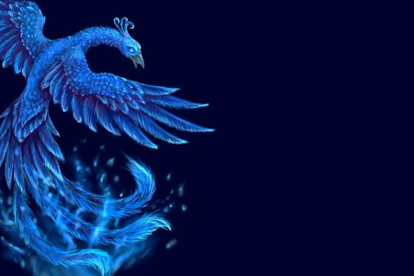 Blue Phoenix Wallpapers HD.